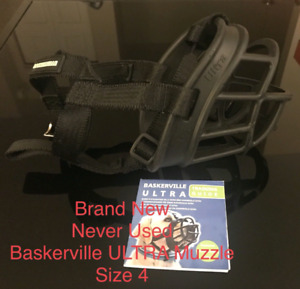 Baskerville Ultra Muzzle  Size 4 Brand New Never Used
