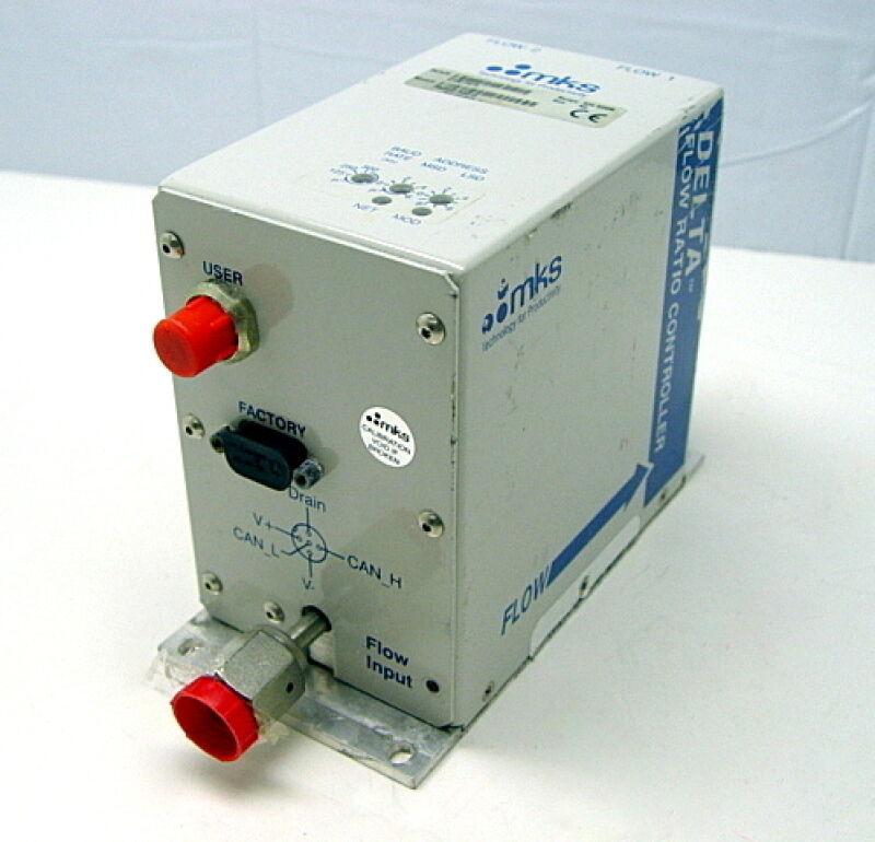 MKS Delta Flow Ratio Controller FRCA52163310 Range 500 SCCM Gas N2