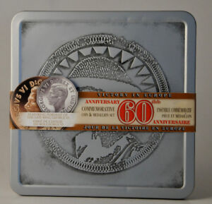 Canada 2005 VE Day 60th Anniversary Commemorative 5 cent Coin &