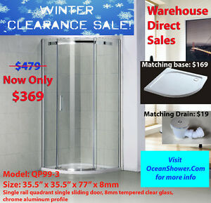Raise Your Home's Value with Frameless Tempered Glass showerDoor