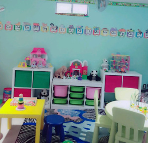Furnished home daycare for rent