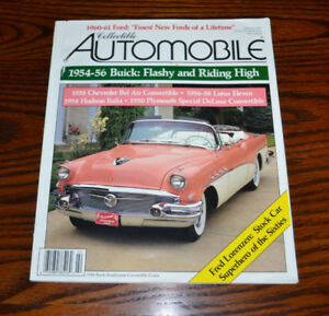 Collectible Automobile magazines - all back issues from 1993