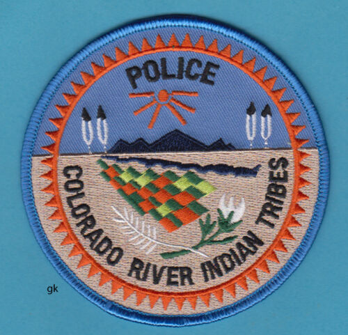 COLORADO RIVER INDIAN TRIBES  TRIBAL POLICE SHOULDER PATCH