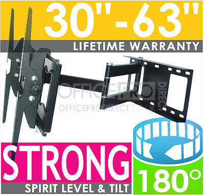 PREMIUM SWIVEL ARM CORNER WALL TV BRACKET FOR CURVED LG 55EG920V