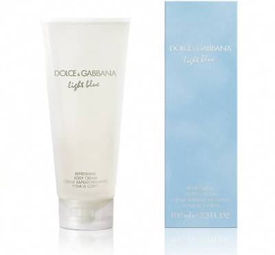 Dolce & Gabbana Light Blue 3.3 oz / 100 ml Refreshing Body Cream