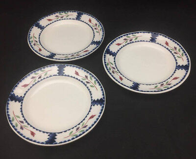 Adams China Lancaster Bread Plates (set of 3) - English Ironstone China Adams China China Plates
