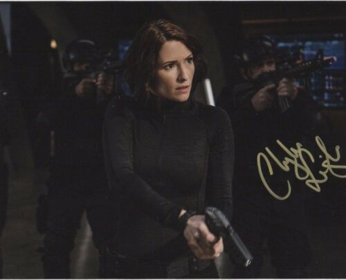 Chyler Leigh Supergirl Autographed Signed 8x10 Photo COA #B2