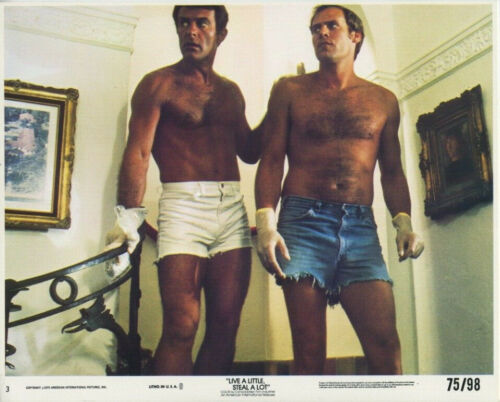 LIVE A LITTLE, STEAL A LOT (1975) Original 8x10 Color Set - Robert Conrad