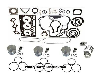 New Engine Overhaul Kit Std Fits Kubota Bx2350d