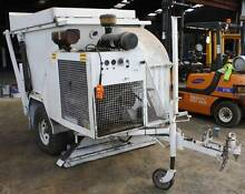 Industrial Diesel Powered Trailable Leaf and Grass Vacuum Kyneton Macedon Ranges Preview