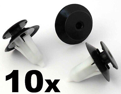 10x Ford Interior Trim Panel Retainer Clips- Door cards, fascias- Fiesta Ka Puma