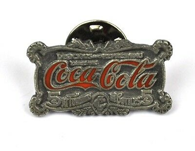Coca Cola Coke USA Lapel Pin Button Badge Anstecknadel - Cola Logo