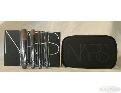 NARS 5 pc Travel Brush Set w/ Case Boxed Blush Dome Eye Shader (Dome Blush Brush)