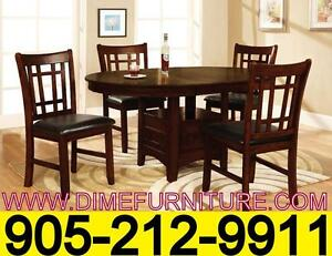 RONAK Pub height dining set