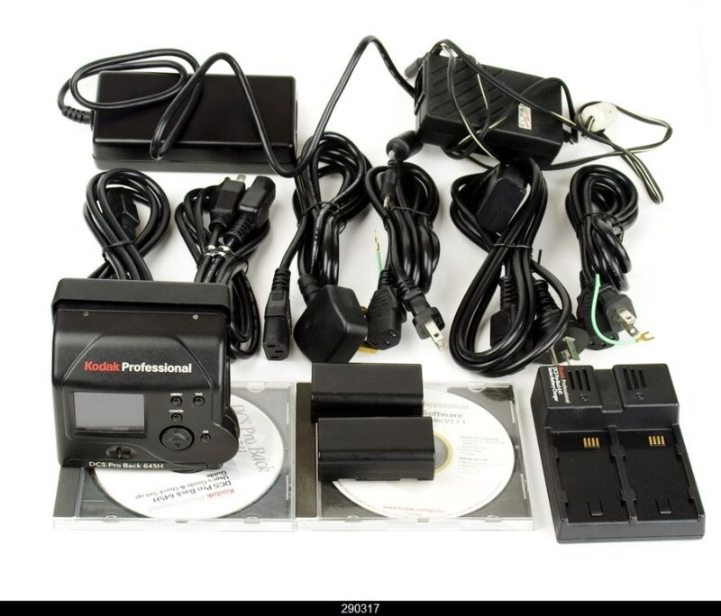 Camera Body Hasselblad H1 + Kodak Dcs Pro Back Plus Digital
