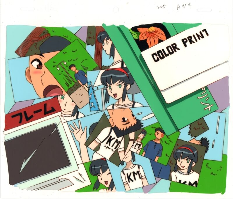 Anime Cel Tenchi #236
