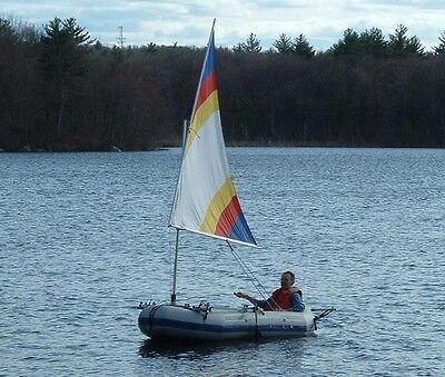 Sail kit for Intex Seahawk II or Mariner 3 Inflatable Boats,