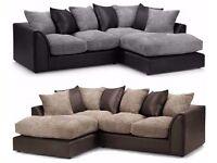 Byron Corner Sofa Right Hand Charcoal