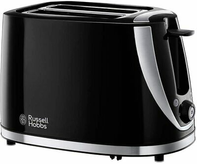 Russell Hobbs Mode 2 Slice Toaster Plastic 1000 W - Black -...