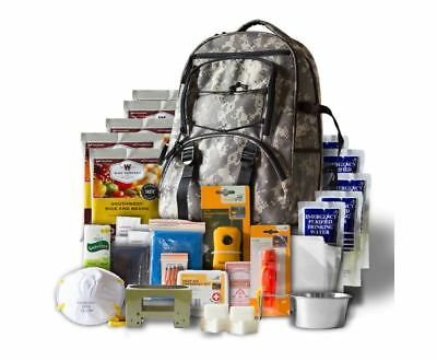 Wise Foods 5 day Survival Back Pack Supply Kit Camping Storage Emergency Rations