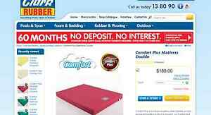 Clark Rubber Double Mattress Camping Campervan Clayfield Brisbane North East Preview