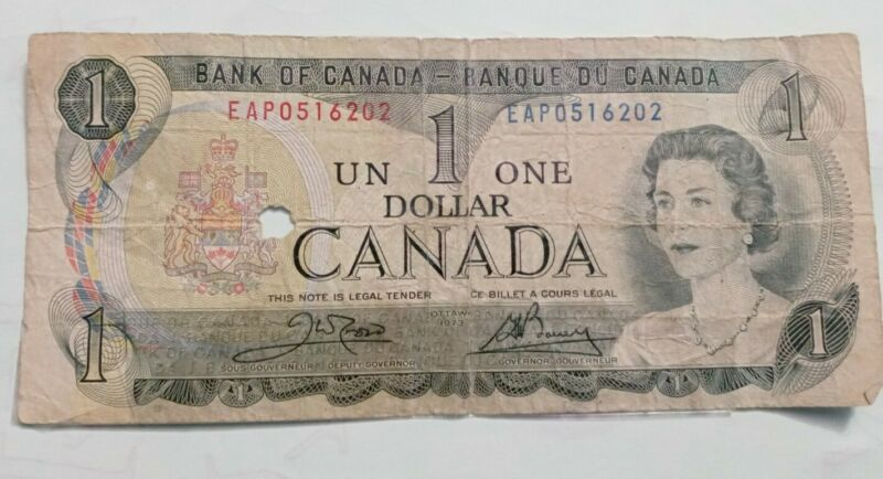CANADA 1 Dollar, 1973, P-85c, Queen Elizabeth II (QEII), UNC World Currency