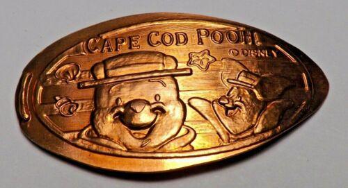 2004 DISNEY SEA CAPE COD POOH TOKYO-Elongated / Pressed Penny T-51