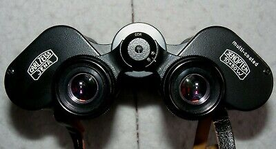 Carl Zeiss Jenoptem 10x50W Multi-Coated binoculars in case, S/N 5094143. German