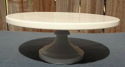 Martha Steward White Cake Stand Pre-Owned Good Condition