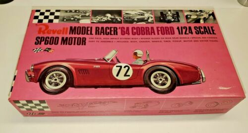 60s Revell AC Cobra 1/24 slot car, sealed in the box, NOS, nice!