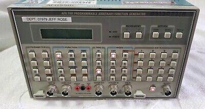 Tektronix Afg5501 Programmable Arbitraryfunction Generator Power Supply