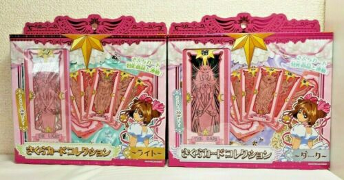 TAKARA TOMY Card Captor SAKURA CARDS COLLECTION Light & Dark  set from Japan