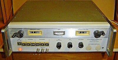 Hewlett Packard 8614a Signal Generator Option 001 Hp