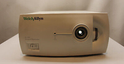Welch Allyn Cl300 Surgical Illuminator Light Source System Optics Surgical Led