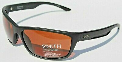 SMITH OPTICS Redmond POLARIZED Sunglasses Black/Copper ChromaPop NEW (Smith Redmond Chromapop Polarized Sunglasses)