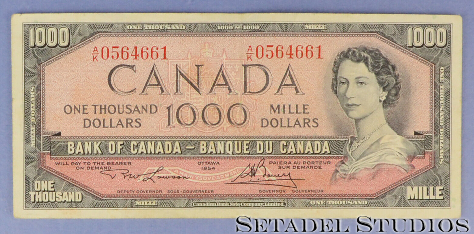 RECTO 1000 Dollars Type 1954 Modified - None
