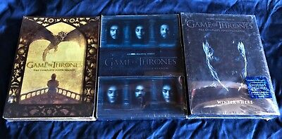 Game of Thrones: Season 5,6,7 DVD The Complete Fifth Sixth Seventh Seasons New