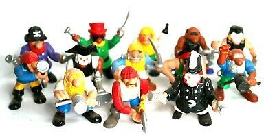 Lot of 13 Vintage Fisher Price Great Adventures Pirate Ship Figures 1994 Pirates