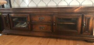 Beautiful tv stand- real wood