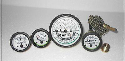 John Deere Tachometer Gauge Set Fits Jd 50 60 70 520 530 620 630 720 730 White