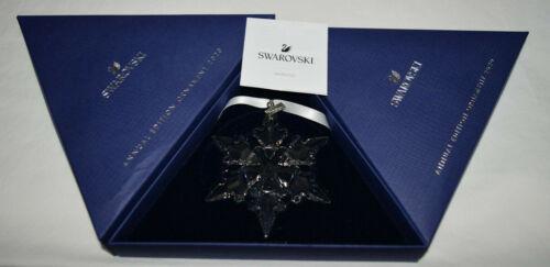 Swarovski Crystal Annual Clear Large Snowflake Ornament 2020 5511041 Used Bad Bx