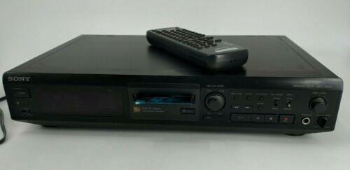 Sony MDS-JE510 MiniDisc Recorder with Remote