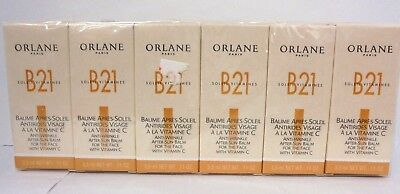 Lot Of 12 Orlane Anti Wrinkle After Sun Balm For The Face B21 Bio Energenic