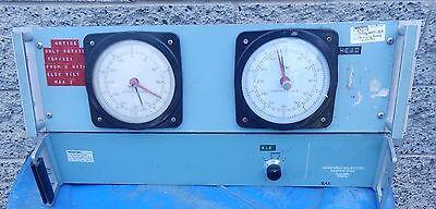 Scientific Atlanta 4422-XX  Position Indicator  & 1580 Synchro Selector w/Cables