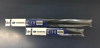 2017- 2019 Subaru Impreza Crosstrek Front Windshield Wiper Blade Set Genuine oem