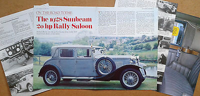 Sunbeam 20hp from 1928, Monte Carlo Rally 1929