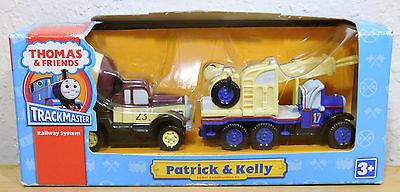 2008 Patrick & Kelly Thomas the Train and Friends Trackmaster NEW Box RARE