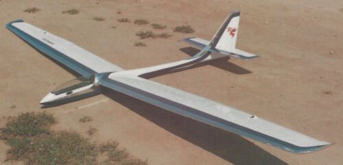Giant Opti Moose Sailplane Plans, Templates and Instructions 120ws