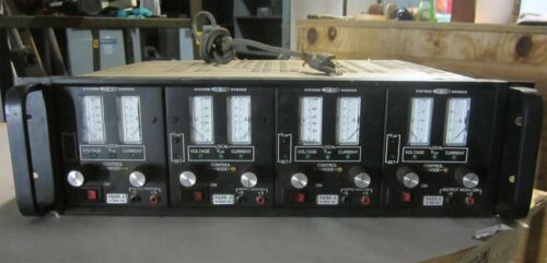 Systron Donner Programmable Power Supplies, Model # PQ100-.5 and Model # PQ20-2