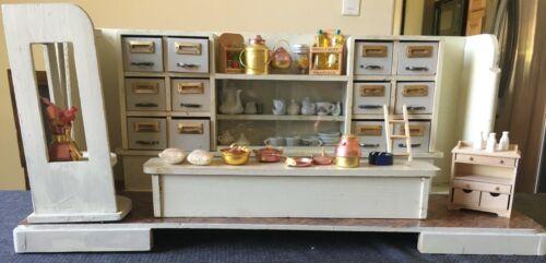 Dollhouse Miniature German Store Apothecary Shop